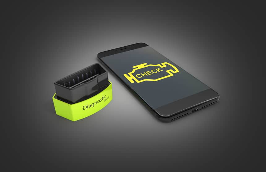 Wireless bluetooth OBD2 scanner for vehicles