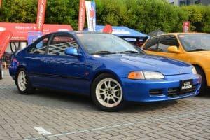 Honda Civic Mugen at a car show